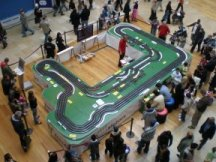 Slot car track promotion