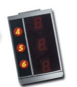 scx25010 Digital System Lap Counter Expansion 4-6cars
